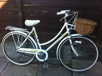 "Retro Raleigh caprice Dutch loop style bike 19"" frame"