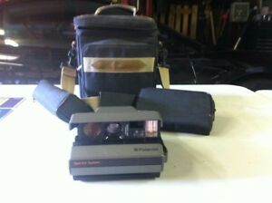 Polaroid Spectra + All Accessories & Manuals -- Mint condition