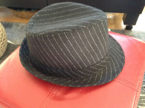 Fedora / Hat - Black with Pinstripe London Ontario image 1