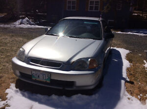 1997 Honda Civic DX w/ABS Coupe (2 door)