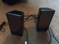 Creative laptop/pic speakers