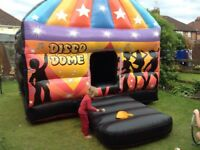 Disco dome bouncy castle for sale