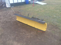 6ft plow with electric winch open to trades