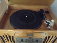Record Player with CD player