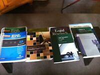 Oulton College, Paralegal/Legal Assistant Program (used) Books