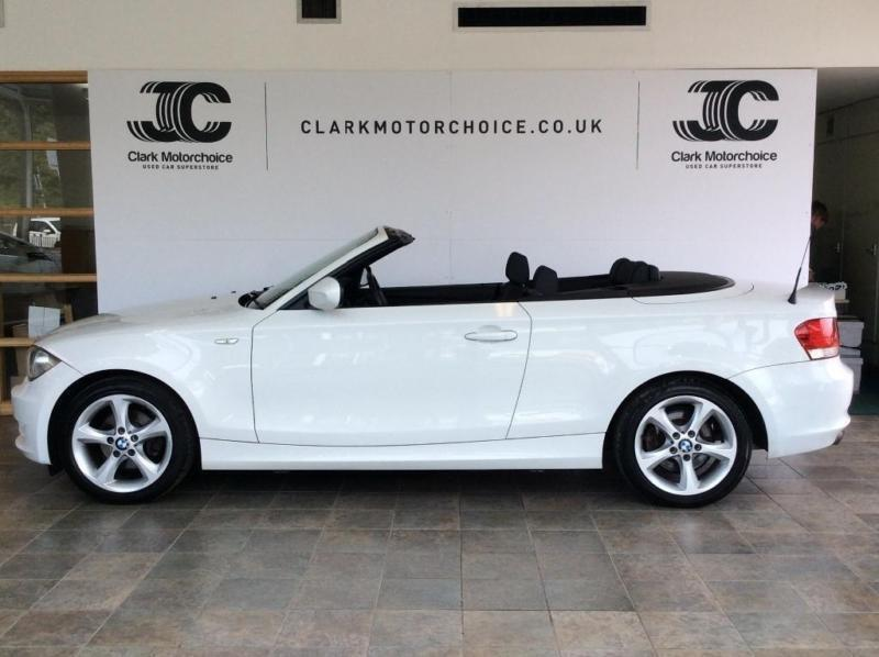 2010 BMW 1 Series 2.0 118i Sport 2dr Petrol white Manual