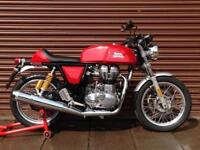 Royal Enfield Continental GT 535cc 2017 ABS. Only 922miles. Nationwide Delivery.