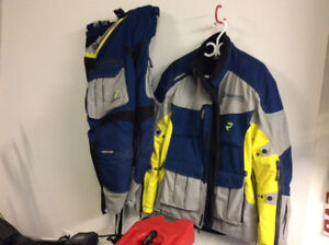 Husqvarna motorcycle riding suit