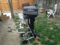 1990's outboard motor 25 hp for sale