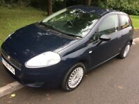 2008 Fiat Punto 1.2 Active-March 2018 mot-74,000-1 previous owner-cheap insurance
