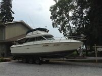 """""""Superior"""" used Sea Ray boat for cruisin' or fishing"""