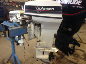 JOHNSON 40hp with CONTROLS