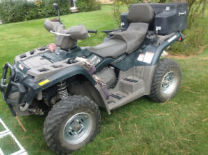 Bombardier 4X4 Quad-two up