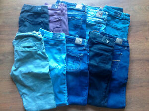 Lot jeggings American Eagle taille 4-6
