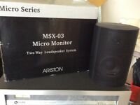 Artiston MSX-03 Micro Monitor Speakers