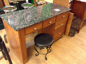 Granite Top Desk