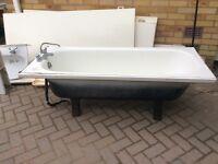 Traditional steel bath, must go ASAP bargain!