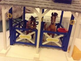 Breyer Horses stable accessories collectible
