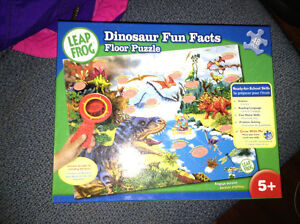 Leapfrog Dinosaur Fun Facts floor puzzle for sale