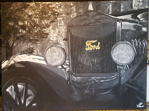 Antique Ford Truck - East Coast Artist