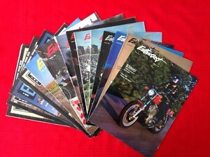 13 Harley Davidson Enthusiast Magazine fom 1985 to 1991 West Island Greater Montréal image 1