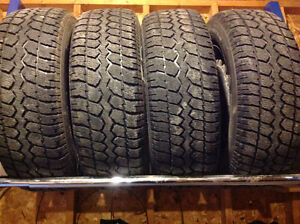 Full Set of Winter Tires and Rims