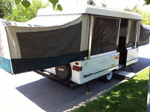12 FEET COLEMAN SUN VALLEY CAMPING TENT TRAILER