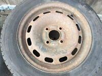 Winter tyres uniroyal ms plus 175-65-14 on fiesta rims