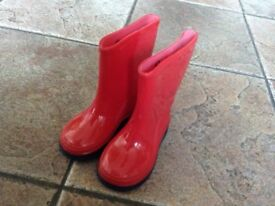 Used Wellington boots for girls from size 1 -13