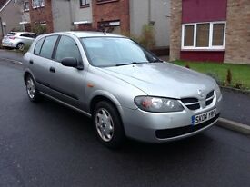 CAR IS NOW SOLD. Nissan Almera CAR IS NOW SOLD