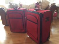 2 x polo sport by Ralph Lauren suitcases
