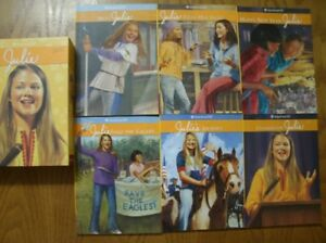 "Complete set of American Girl Books of ""Julie"""