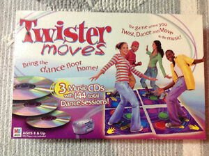 Twister Moves Game with CD's New OBO