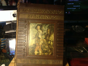 1st edition World Famous Paintings - Edited by Rockwell Kent Har