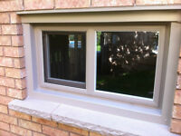 CUSTOM VINYL AND STANDARD BASEMENT WINDOWS