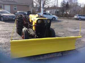 Tractor face 430 diesel 4 cyl  with hydraulic 8' Plow sale $5000