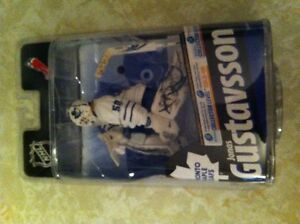 Jonas Gustavsson signed bronze collector figure in package