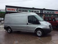 2012 62 FORD TRANSIT 2.2 350 LWB MED ROOF LOW MILES FSH OPEN 7 DAYS DIESEL