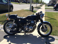 CAFE RACER OLD SCHOOL EXCELLENT COND CERTIFIED!