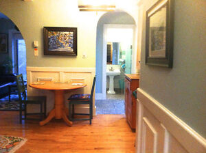 Stunning furnished executive heritage home centrally located St. John's Newfoundland image 2