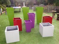 Amazing fibreglass statement planters