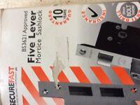 75MM Mortice sash lock 5 Lever