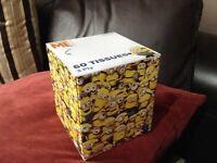 Minion Tissue Cubes x3
