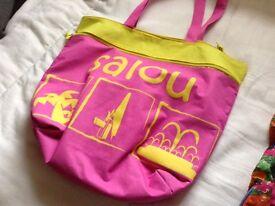 Two beach bags