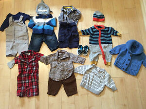 Brand Name 0-3 Month Clothing (4)