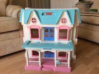 Fisher price vintage dolls house