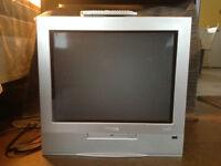"""Phillips 20"""" colour TV."""