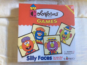 Colorforms Games - Silly Faces