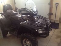 2008 Arctic Cat TRV 700 with two up seat