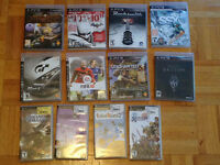 Playstation 3: 8 Games, 10$ Each or all for 70$